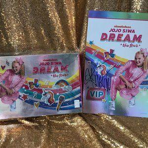 JoJo Siwa VIP Glam Bag and Autographed Poster